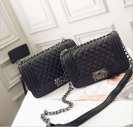 Wholesale Handbags Blue Chain - 2016 Vintage Handbags Women bags Designer handbags wallets for women fashion sheepskin leather chain bag shoulder bags