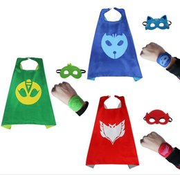 Wholesale Outdoor Family Activities - 2017 new product P J cloak mask suit suit MASKS children Halloween family activities school dress up performance clothing