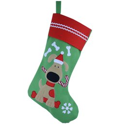 Pets Christmas Stockings Online Wholesale Distributors 2016 Hot Sale Lovely