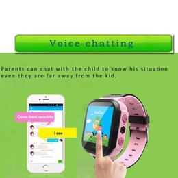 """Wholesale Remote For Flash - Wholesale- Lemado Q528 Kids GPS Tracker Watch Kids Smart Watch with Flash Light 1.44"""" Touch Screen SOS Call Location Finder for Child"""