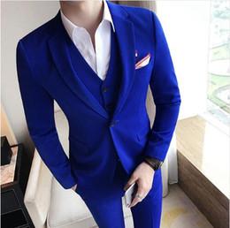 Hermoso novio de boda Tuxedos (chaqueta + corbata + chaleco + pantalones) Trajes de hombre por encargo Traje formal para hombres Boda esmoquin de Bestmen desde fabricantes