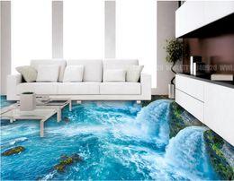 2019 dipingere piastrelle da bagno Pavimenti in pvc per pavimenti in ciottoli di acqua verniciati