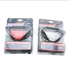 Wholesale Lead Flashing Suppliers - China Supplier Car Use F1 Style 12 LED Lamp Car Brake Light Car Reverse light Lamp Vehicle Warning Strobe Flash Light DC12V Red