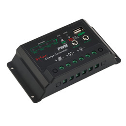 Wholesale 24v Charge Controllers Mppt - Hot Selling! 10A Auto PWM MPPT Solar Panel Battery Regulator Charge Controller 12V 24V <US$10 no tracking
