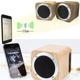 B06 kablosuz Bluetooth Hoparlörler Taşınabilir Ahşap Mini Eller Serbest Subwoofer İşlevli Boombox FM Radyo desteği ile TF U DİSK MIS154 nereden