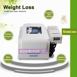 Wholesale Newest Burning Laser - 2017 Newest price laser fat burning slimming lipolaser machine for sale home use or salon use CE approval DHL Free Shipping