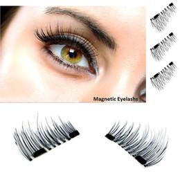 Wholesale Wing Lashes - Magnetic False Eyelashes Soft Natural Makeup Mink Magnet Fake Eyelashes Natural Eye Lashes Extension Handmade