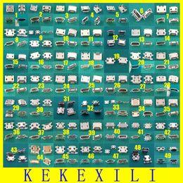 Wholesale Großhandels Modelle Mikro USB Jack Verbindungsstück Tablette Telefon aufladenhafen Sockel Energien Verbindungsstück pin Wannenart Rindhorn p Endstück pin