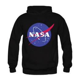 Wholesale Discovery Short - Wholesale-2016 New Fashion Men's NASA Space Hoodies Sweatshirt Custom Mens Winter Autumn Pullover Discovery Apollo Astronaut Sweatshirts