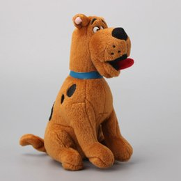 """Wholesale Scooby Doo Dog Toys - Hot Sale 7"""" 18cm Scooby Doo Dog Plush Toys Stuffed Animals Toy For Baby Gifts New Wholesale"""