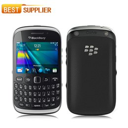 Wholesale 2016 Time limited Limited Color Bar Gsm Unlocked Original Blackberry Curve with Wifi Gps Bluetooth refurbished mobile phone