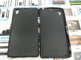 Wholesale Xperia Wave - Wave Gel Tpu Case Cover Black Skin S line for Sony Xperia Z1 L39h C6902 5.0 inches DISPLAY