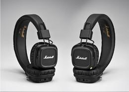 DHL Бесплатная доставка Маршалл майор II 2.0 Bluetooth Беспроводные наушники DJ Studio Beat наушники глубокий супер бас шумоизоляции гарнитура от