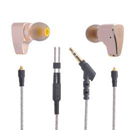 Wholesale Diy Earphones - 2016 New Original LZ A3 In Ear Earphone Dynamic And 2 BA Hybrid 3 Unit HIFI DIY Earphone With MMCX Interface Cable Kill