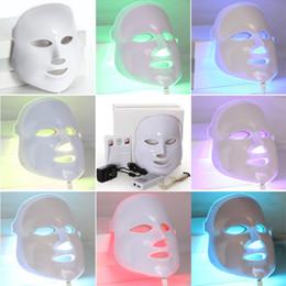 Wholesale Home Use Led Facial - TM-LM003 NEW Korean Photodynamic LED Facial Mask Home Use Beauty Instrument Anti acne Skin Rejuvenation LED Photodynamic Beauty Face Mask