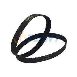 Wholesale Pulleys Machines - 2Pcs pack Motor Belts 200-2GT-9 Rubber Timing Belt L=200mm W=9mm 100 Teeth in Closed Loop for 3d Printer RepRap Drive Pulley