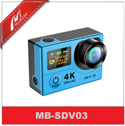 Wholesale Dual Ccd Camera - 4K Dual Screen waterproof Camera Wi-Fi Sport action camera with remote control