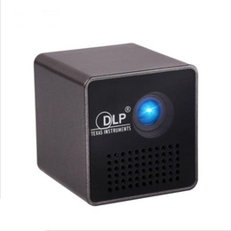 Wholesale Home Theatre Projectors Led - P1+ WIFI Wireless Mobile MINI Protable Projector Support Miracast DLNA home theatre Beamer Movie Game LED Pico Proyector