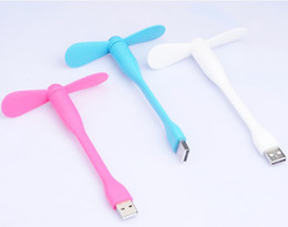 Wholesale Flexible Material - Portable Flexible USB Mini Fan Dragonfly USB Fan with TPE environmental protection material for all USB Output