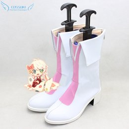 Wholesale Umi Sonoda - Wholesale-LoveLive! Sonoda Umi Cosplay Shoes Boots Professional Handmade ! Perfect Custom for You !
