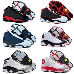 Wholesale Cheap Gingham - Top Quality Wholesale Cheap NEW Retro 13 13s Casual Shoes sneakers women Kids Sports trainers Casual Shoes for men designer Size 5.5-13