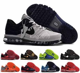 Wholesale Glitter Shoes For Cheap - Newest Cheap Max 2017 Mens Running Shoes Hot Selling Original Quality KPU Sneakers For Men Maxes Sports Athletic Trainers Eur 40-47