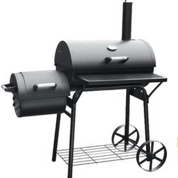 Wholesale Big Bbq - small and big BBQ grill, double gas&charcoal BBQ grill,gas oven,charcoal oven multifunction BBQ grill ,outdoor charcoal BBQ grill