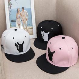 Wholesale Cartoon Basketball Hats Snapback - Basketball Hats Snapback Hats Football Hats Sports Hats Hip-Hop Adjustable Hats Baseball Caps Baby Boys Girls Cartoon Pikachu Hats 140