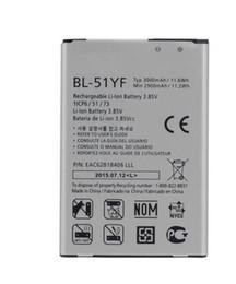 Wholesale g4 batteries - BL-51YF Battery For LG G4 H815 H818 H819 VS999 F500 F500S F500K F500L H811 V32 3000mAh Li-ion Phone Batteries BL 51YF BL51YF