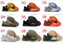 Wholesale Cheap Goods Sale - 2017 Hot Sale Men Harden Vol 1 Top Quality James Harden Basketball Shoes Cheap Outdoor Good Quality Casual Sneakers Free Shipping Size 40-45
