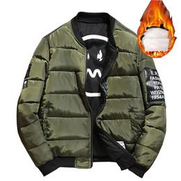 Wholesale Mens Quilts - Men's Jackets Fashion Thicken Parkas Men Big Sizes Thick Warm Mens Winter Jacket Two Side Wear Men's Jacket Quilt Streetwear
