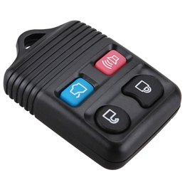 Wholesale Ford Key Remote Control - Mayitr 4 Button Keyless Remote Control Key Clicker Transmitter Case Shell for Ford Lincoln Mercury Car Styling