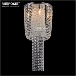 Wholesale Empire Lamps - Long Size Crystal Light Fixture French Empire Chandelier Lustre Light Bedroom Aisle Porch Lamp Hallway Crystal Lustre Lighting MD12110