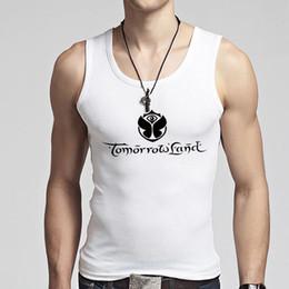 Wholesale Men S Clothing Discounts - Wholesale-Clothing Men Tank Tops Discounts O Neck Cool Men's Tanks Vests Fashion Boy Sleeveless Shirts Stylish Male Singlets Fitness