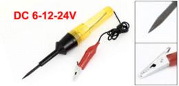 Wholesale Pen Circuit Tester - DC 6-12-24V Power Circuit Voltage Volt Tester Pen Repair Tool for Auto Discount 50 pen test