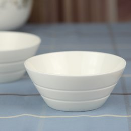 Wholesale Ceramic Dinnerware Tableware Porcelain - Free Shipping New Arrival No Lead two-thread whitest bone china ceramic bowl rice bowl porcelain tableware japanese style bowl Dinnerware