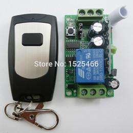 Fernbedienung dc-schalter online-DC 12V 433M LED Wireless Fernbedienung Relaismodul für Licht Beleuchtung Motor