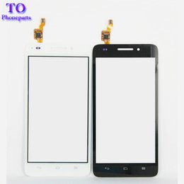 touchscreen digitizer glass replacement Coupons - Black White Touchscreen Sensor For Huawei G620S G621 8817E 8817S Touch Screen Panel Digitizer Front Glass Assembly Replacement