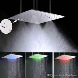 500 5008mm led rain shower head head showers and ceiling mistfall showers uk