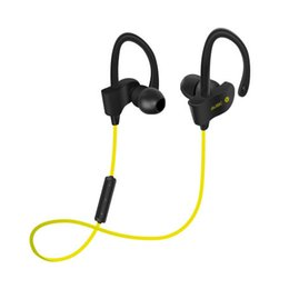 Wholesale Beat Phones - Bluetooth 4.1 Wireless Sport Headset DSP Noise reduction Professional Headphone Earphone Mic Deep Bass Beat boxing for iPhone Samsung HTC