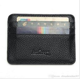 Wholesale Leather Wallets Drivers License - Fashion New 6 Colors Men Women Driver License ID Holders Pack Quality Patent Leather Casual Business Card Holder Free Shipping