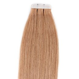 """Wholesale Tape Hair Extensions 27 - Free Shipping HLhair 16"""" Copper Blonde (#27) 40 Pcs 100g Per Set Pu Tape in 100% Remy Human Tape in Hair Extensions"""