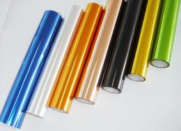 Wholesale Hot Stamping Foil Paper - Gold Sliver Blue Red White Black- HOT STAMPING FOIL FOR PAPER PLASTIC (64CM*90M roll)