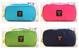 Wholesale Function Foods - New Storage Bags Multi-function oxford cloth Waterproof Portable Underwear Bras Organizer Bag Toiletry bag Travel Storage bag DHL FEDEX free