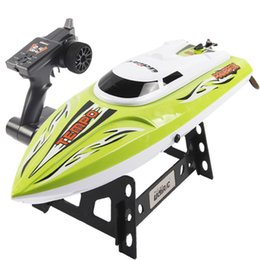 Wholesale New Rc Boat Brand - Wholesale- Hot UDI 002 2.4G High Speed RC Boat with Water Cooling System Brushed Motor Boat Gift Brand New High Quality 30