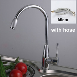 Wholesale Tall Sink - Wholesale- 1 Set New Fashion Home Hot and Cold Water Kitchen Sink Tall Faucet
