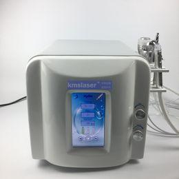 máquina de vacío doméstica Rebajas Pantalla táctil modelo nuevo con alto vacío, sin ruido, buena pistola de pulverización de oxígeno, microdermbrasión, hidra facial, martillo frío, salón de uso doméstico, máquina