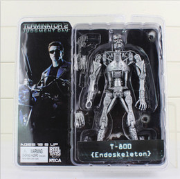 Wholesale NECA Terminator action figures T ENDOSKELETON quot plastic figure dolls toys Xmas gifts for kids