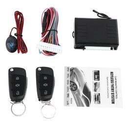 Entrada sem chave hyundai on-line-12 V Sistema de Alarme de Carro Sistema de Entrada sem chave do Carro com Controle Remoto Fechadura Da Porta Automaticamente para Hyundai CAL_10A