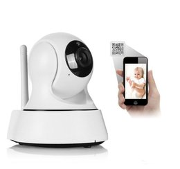 Wholesale Wireless Camera Scanning - Home HD 720P IP Camera Wi-Fi CCTV Cam Security Network Kamera WiFi Wireless IP kamery Baby Monitor Audio QR CODE Scan Connect